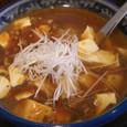 新潟市西区小新「王華楼」マーボー麺