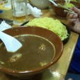 喜楽亭。カレーつけ麺。
