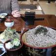 福島県 大内宿で食べた「天ざる蕎麦」