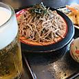 「いい湯らてぃ」の天ざる蕎麦