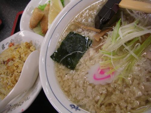 燕市「まつや」平日ラーメンランチ(900円)