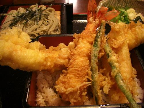 新潟市東区松崎「小嶋屋」天ぷら蕎麦