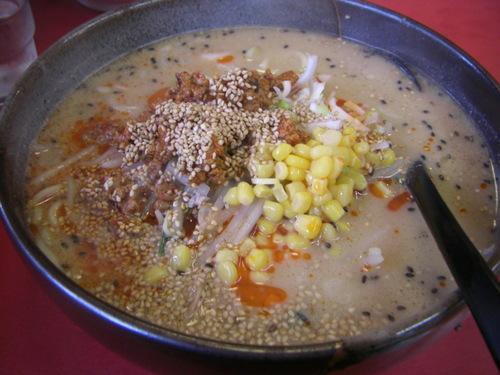 ごま味噌坦々麺。
