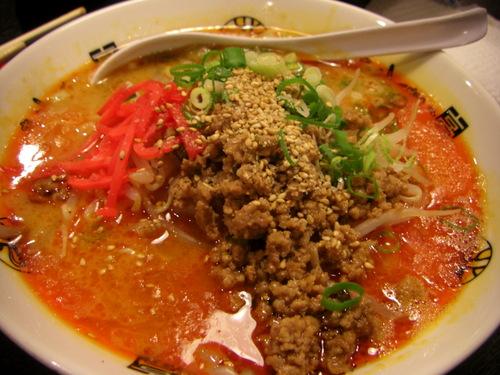 博多ラーメン「きんしゃい亭」燕店、胡麻醤麺(チーマージャンメン)