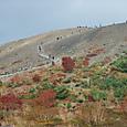 吾妻小富士の紅葉は見頃でした